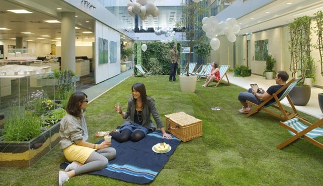 bringing-a-picnic-green-inside